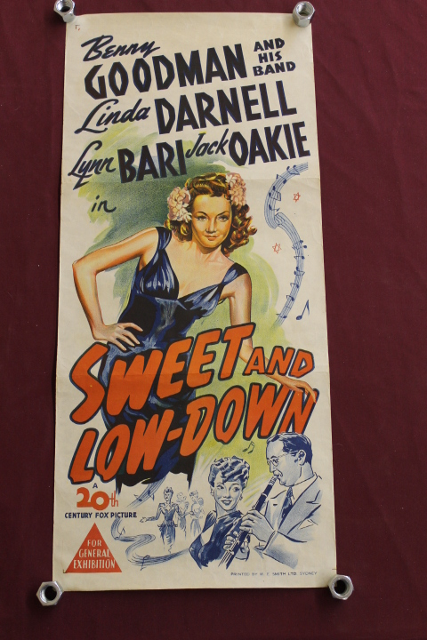 Poster - Sweet and Low-Down - 13 1/4 x 30