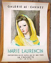 Marie Laurencin Vintage Poster