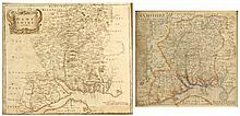 NORDEN, John - Hamshire (Hampshire) - map engraving, 1637 o