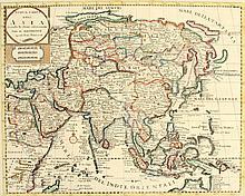 Giambattista Albrizzi - NUOVA CARTA DELL ASIA (Asia) - hand-