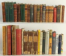 two boxes containing assorted books including BENTHAM, Geor