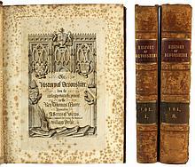 MOORE, Rev. Thomas - 'The History of Devonshire' Two-volume