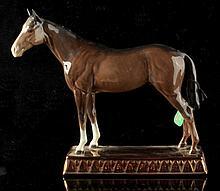 A Beswick model of the 1938 Derby winner 'Bois Rou