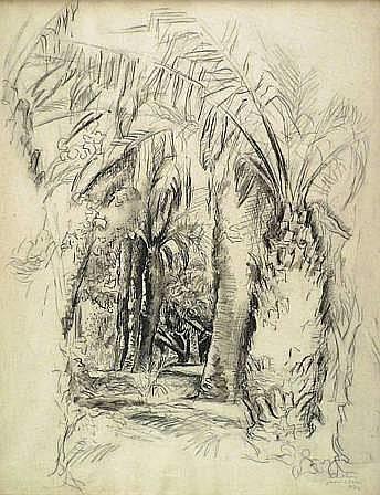 RIOULouis(1893 - 1958)ALGERLE JARDIN