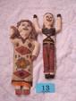 2 Rainforest Bark Dolls, Brazil
