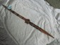 Carved ceremonial Spear New Guinea /Bennet estate