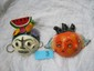 2 Mexican Coconut Shell Mask