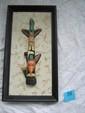 North West Coast Native American totem pic 3D