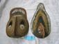 2 Yam Festival fiber Mask New Guinea
