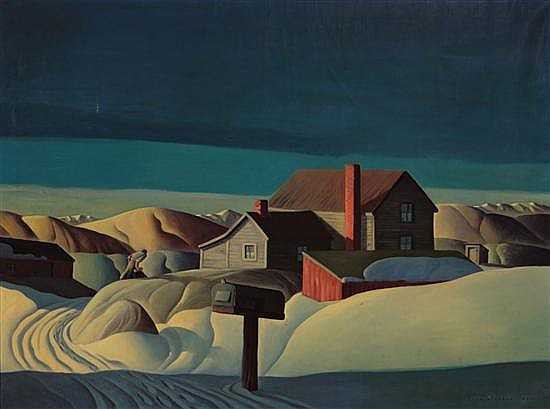 DALE NICHOLS American (1904-1995)