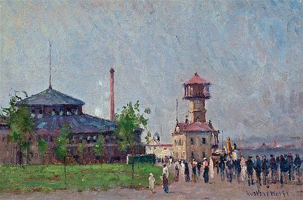 GUSTAV WOLFF, American (1863-1935),
