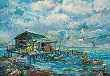 DAVID BURLIUK, Russian/American (1882-1967),