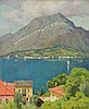 CHARLES WARREN EATON, American (1857-1937), Lake Como, oil on canvas, signed lower right., 24 x 20, Charles Warren Eaton, $3,000