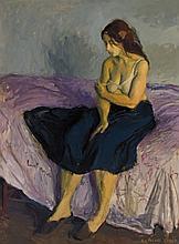 RAPHAEL SOYER, American (1899-1987),