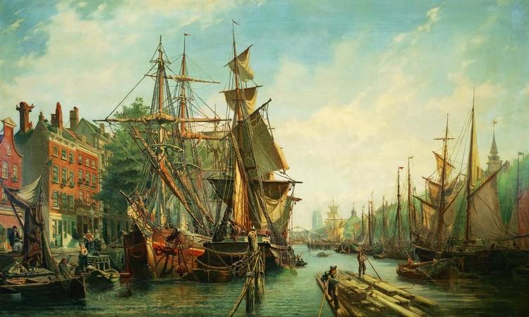 PAULUS PETRUS VAN DER VELDEN Dutch (1837-1915)