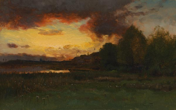 CHARLES HARRY EATON American (1850-1901)