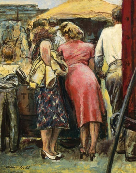 ALBERT GOLD American (1916-1972)