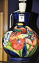 Moorcroft Pottery baluster lamp base, mid 20th