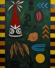 David Aspden (1935-2005) Baai Village, 1981