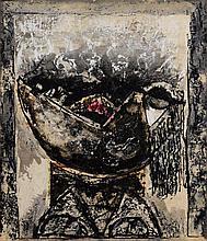 Leonard French (b. 1928) Screaming Head, 1967