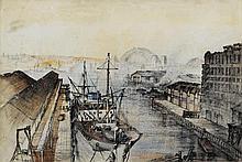 Allan Gamble (1907-2001) Kanangoora, Sydney, 1949
