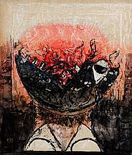 Leonard French (b. 1928) Screaming Head No. 2, 1967