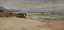William Charles Piguenit (1836-1914) Beach Scene