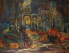 Pixie O'Harris (1903-1991) Aegean Aftermath, 1963