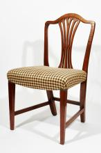 Assembled Set of Eight Dining Chairs