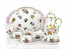Herend Coffee Service 'Bouquet de Fruits' pattern,