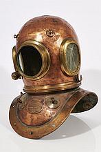 Siebe Gorman & Co. 12-Bolt Diving Helmet