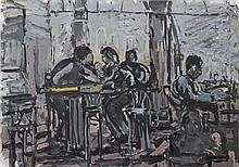 Kevin Connor (b. 1932)* Café Gare du Nord, 1996