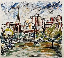 Danila Vassilieff (1897-1958) Hyde Park, Sydney,