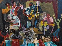 Donald Stuart Leslie Friend (1915-1989) Jazz at