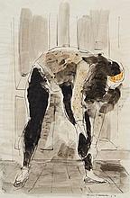Francis Lymburner (1916-1972) - Dancer, 1958