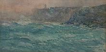 Julian Rossi Ashton (1851-1942) - The Lighthouse, 1916