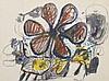 John Olsen (b. 1928) - Flower and Abstract, 1965, John Olsen, AUD8,000