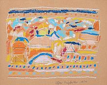 Allan Mitelman (b. 1946) - Abstract, 1970