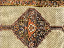 Handwoven North-West Persian runner, circa 1920