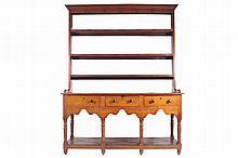 Eighteenth-century oak dresser