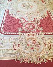 Twentieth-century French Aubusson carpet