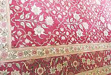 Twentieth-century handmade Agra carpet