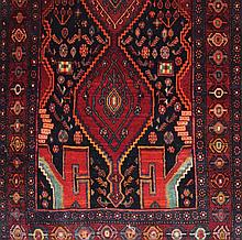 Handwoven  Hamadan Lori village rug