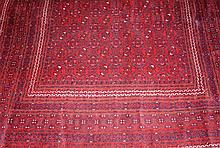 Red Afgahn rug