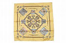Hermes of Paris silk scarf