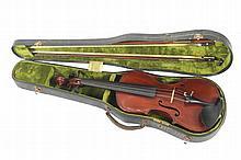 Late 19th century German violin,