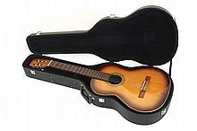 Admira guitar and case