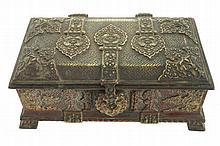 Gilded jewellery box