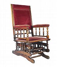 Nineteenth-century rocking chair