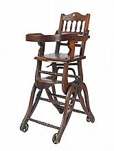 Nineteenth-century child's chair